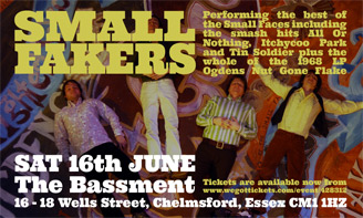 Small Faces Tribute Small Fakers in Essex