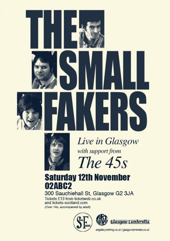 Small Faces tribute The Small Fakers in Glasgow