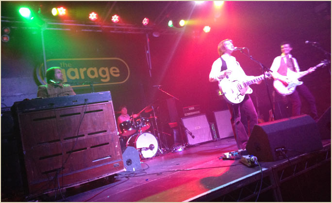 Small fakers for The garage glasgow