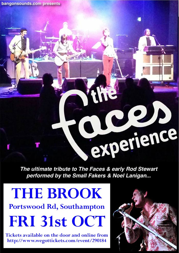 The Faces Experience at The Rifle Club, Portsmouth