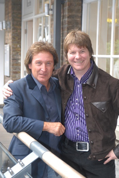 Dan with Kenney Jones
